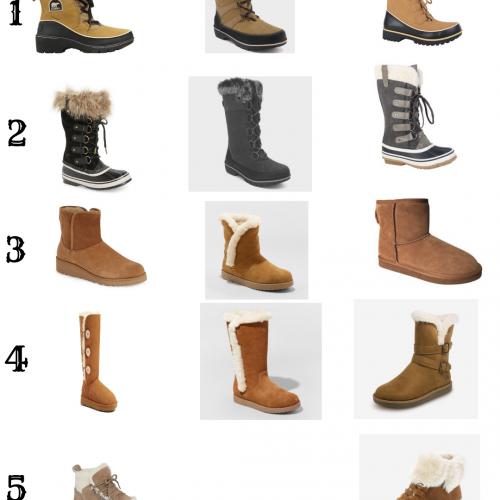 Winter Shoe Roundup
