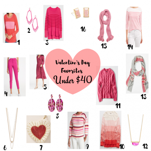 Favorite Valentine's Day Finds Under $40