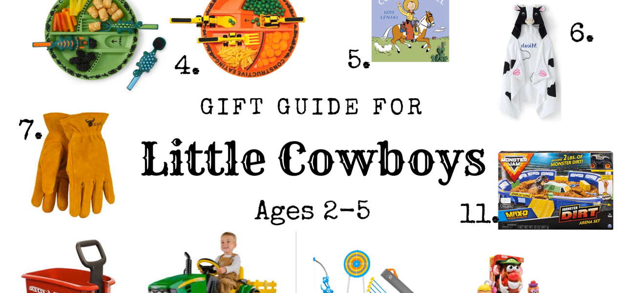 Gift Guide for Little Cowboys